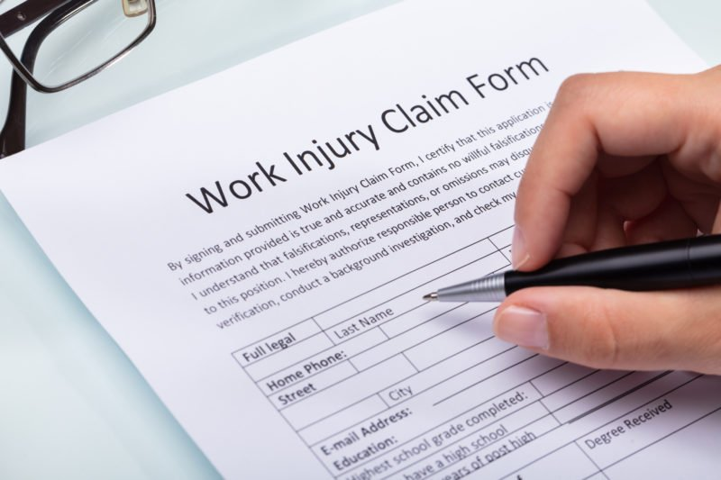 eugene workers compensation claim form